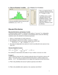 Binomial and Poisson Distributions