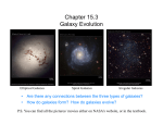 Chapter 15.3 Galaxy Evolution