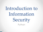 Introduction to Information Security - Cs Team Site | courses.cs.tau.ac.il