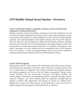 CPS Middle School Social Studies Overview
