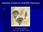 2.10 Random Forests for Scientific Discovery