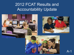 June FCAT and Accountability Board Meeting Presentation