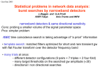 Statistical problems associated with the analysis of data from a