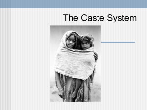 Caste System - South High School