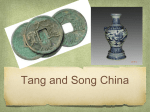 Tang and Song China