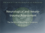 ii. Neurological and Neuro-trauma Assessment