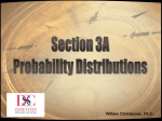 Section 4 - Probability Distributions