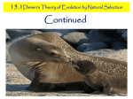 15.1 darwin`s theory of natural selection 2