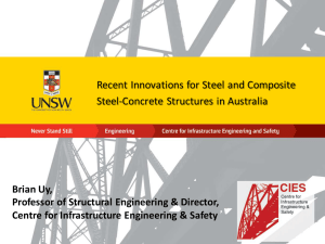 Recent Innovations for Steel and Composite Steel-Concrete