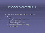 biological agents - Knox County Government