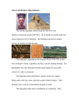 Notes on the Nile River Valley Civilization…