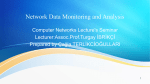 Network Data Monitoring and Analysis