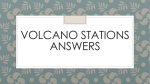 Volcano Stations Answers