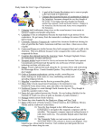 Study Guide for Unit 2 Age of Exploration