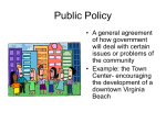 Public Policy - PAMS-Hart