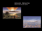 Three basic types of asteroids
