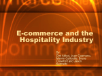 E-commerce and the Hospitality Industry