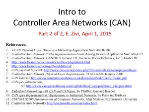 Intro to Controller Area Network (CAN) (Part 2)