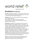 Buddhism Buddhism - World Relief Nashville