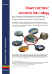 Power electronic converter technology