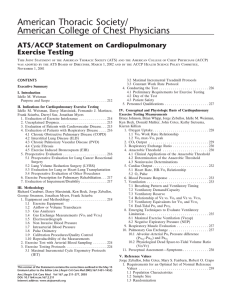 American Thoracic Society/ American College of Chest Physicians