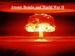 Why Truman Used the Bomb