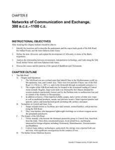 Ch. 7 Networks of Communication and Exchange Reading Summary