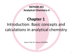 Week 1 NEPHAR 201- Analytical Chemistry II_Introduction_5