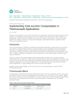 Implementing Cold-Junction Compensation in
