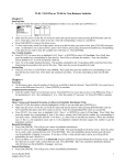 TI-83 Calculator Instructions for Business Statistics