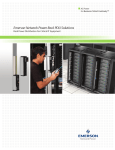 Emerson Network Power Rack PDU Solutions