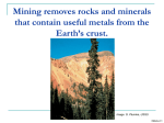 How Metals are Mined - American Geosciences Institute