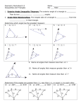 Geometry Worksheet 5