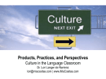 Products, Practices, and Perspectives