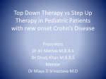 Top down therapy vs Step up therapy in pediatric patients with new