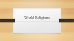 World Religions/Christianity