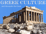 Chapter 4-Greek Culture and Alexander the Great 4.4