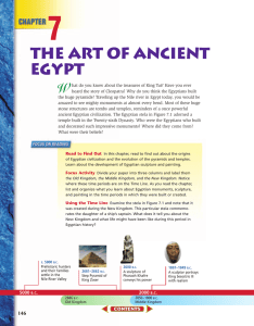 The Art of Ancient Egypt - West Jefferson Local Schools