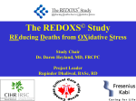 REDOXS© Trial Pilot - Critical Care Nutrition