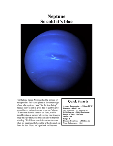 Neptune - Peterborough Astronomical Association