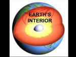 EARTH`S INTERIOR
