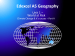 Edexcel AS Geography - SLC Geog A Level Blog