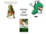 Frogs and Toads - Kenton County Schools