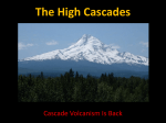 Lecture 15: The High Cascades