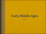Early Middle Ages - River Mill Academy