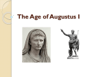 The Age of Augustus I - CLIO History Journal
