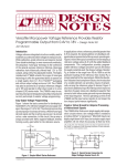 DN351 - Versatile Micropower Voltage