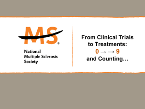 PowerPoint_Template - National Multiple Sclerosis Society