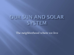 Our Solar system - World of Teaching