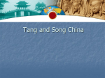 12.1 Tang and Song China